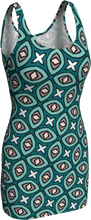Load image into Gallery viewer, The Tera Fitted Dress in Teal