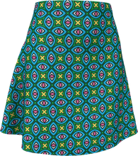 Load image into Gallery viewer, The Tera Flare Skirt in Bright