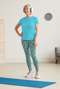 The Tera Leggings in Teal
