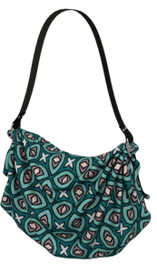 The Tera Origami Bag in Teal