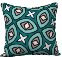 Load image into Gallery viewer, The Tera Reversible Pillow in Teal
