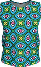 Load image into Gallery viewer, The Tera Tank Top in Bright-Loose Tank Top (Regular)-Clash Patterns by Jennifer Akkermans