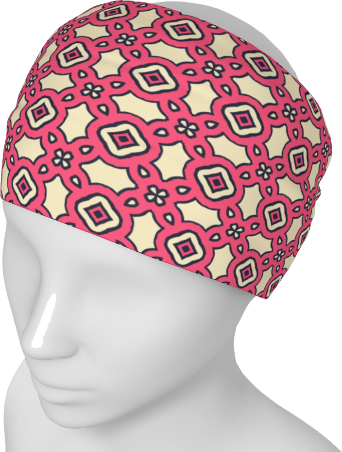 The Tiffany Headband in Pink Lemonade