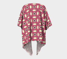 Load image into Gallery viewer, The Tiffany Kimono in Pink Lemonade-Clash Patterns