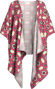 The Tiffany Kimono  in Pink Lemonade