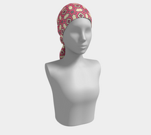 Load image into Gallery viewer, The Tiffany Long Scarf in Pink Lemonade-Clash Patterns
