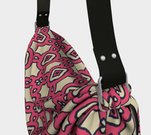 Load image into Gallery viewer, The Tiffany Origami Bag in Pink Lemonade-Clash Patterns
