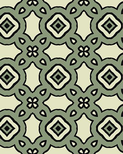 The Tiffany Print-at-Home Art Print in Artichoke - Digital Download-Clash Patterns