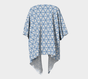 The Tracy Kimono in Blue and White