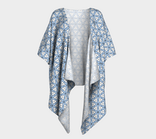 Load image into Gallery viewer, The Tracy Kimono in Blue and White