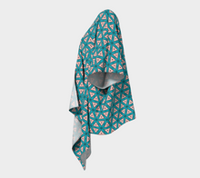 Load image into Gallery viewer, The Tracy Kimono in Teal and Coral
