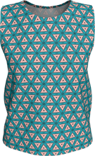 Load image into Gallery viewer, The Tracy Tank Top in Teal and Coral