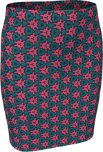 Load image into Gallery viewer, The Veronica Fitted Skirt in Watermelon
