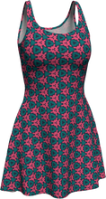 Load image into Gallery viewer, The Veronica Flare Dress in Watermelon