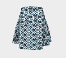 Load image into Gallery viewer, The Veronica Flare Skirt in Neutrals-Clash Patterns