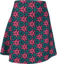 Load image into Gallery viewer, The Veronica Flare Skirt in Watermelon-Flare Skirt-Clash Patterns by Jennifer Akkermans