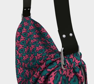 The Veronica Origami Bag in Watermelon-Clash Patterns