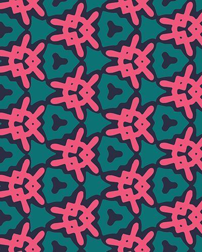 The Veronica Print-at-Home Art Print in Watermelon - Digital Download-Clash Patterns