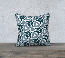 Load image into Gallery viewer, The Veronica Reversible Pillow in Neutrals-Clash Patterns