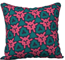 Load image into Gallery viewer, The Veronica Reversible Pillow in Watermelon