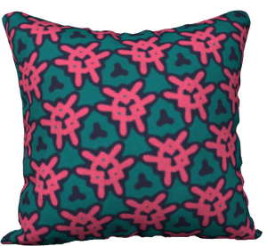 The Veronica Reversible Pillow in Watermelon