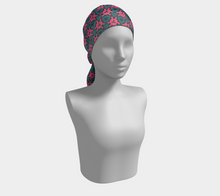 Load image into Gallery viewer, The Veronica Square Scarf in Watermelon-Clash Patterns