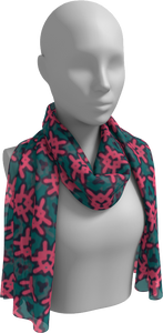 The Veronica Long Scarf in Watermelon