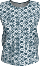 Load image into Gallery viewer, The Veronica Tank Top in Neutrals-Loose Tank Top (Regular)-Clash Patterns by Jennifer Akkermans