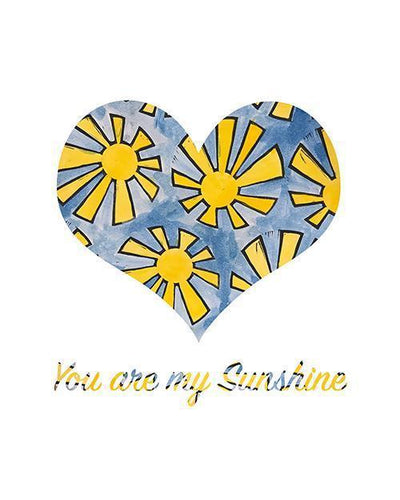 You Are My Sunshine - Print-at-Home Art Print - Digital Download-Clash Patterns