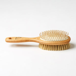 Dog Brush Wooden Pins