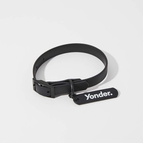 Waterproof Dog Collar Black