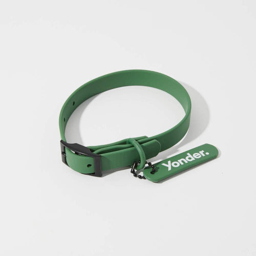 Waterproof Dog Collar Green