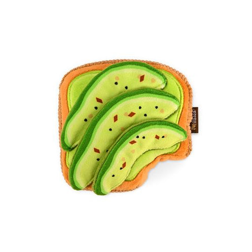 Avocado Toast Dog Toy
