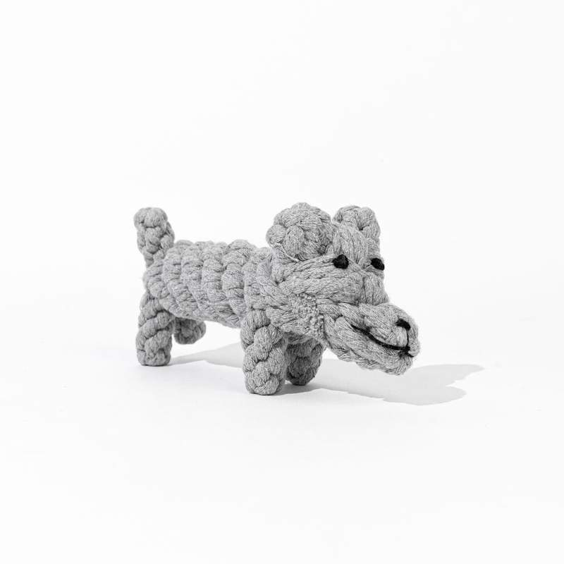Natural Cotton Rope Dog Toy Puppy