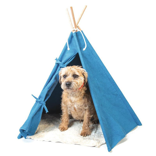 Tepee Tent in Blue