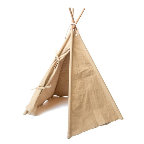 Tepee Tent in Coconut