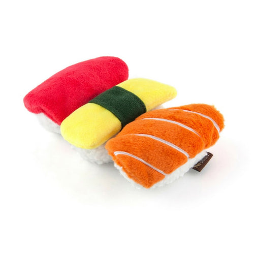 Nigiri Sushi Dog Toy