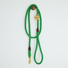 Load image into Gallery viewer, All Weather Dog Leash in Bright Green