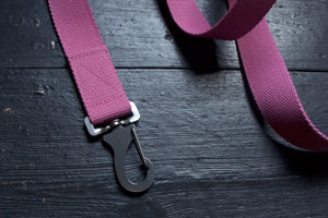 Cotton Canvas Dog Lead Pink