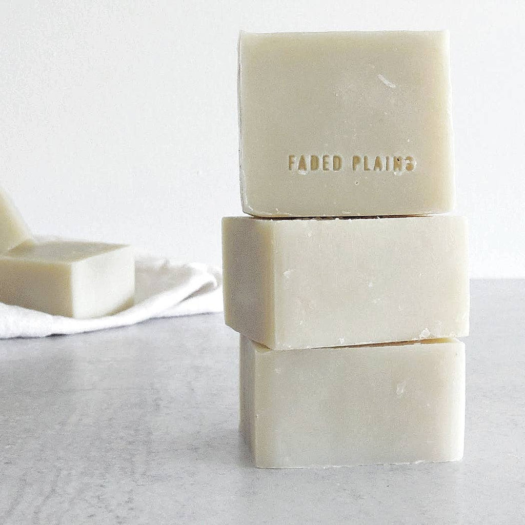 Faded Plains - Cyprus Small Batch Bar Soap