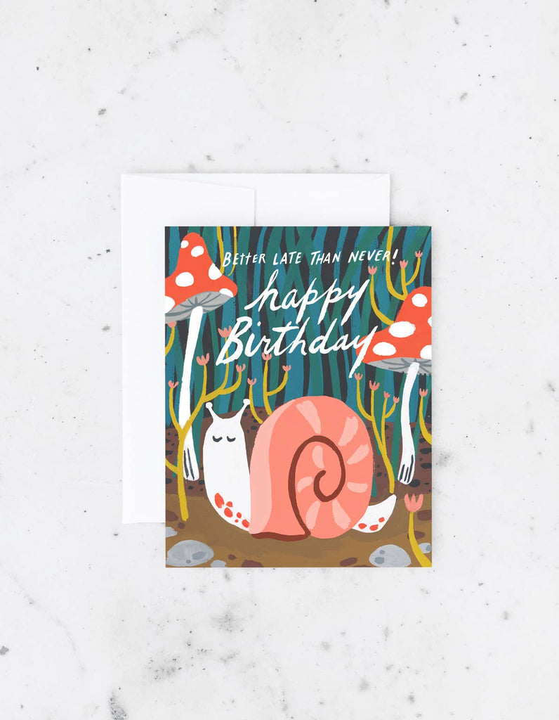 Idlewild - Belated Snail Card