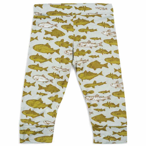Blue Fish Bamboo Legging 3-6m
