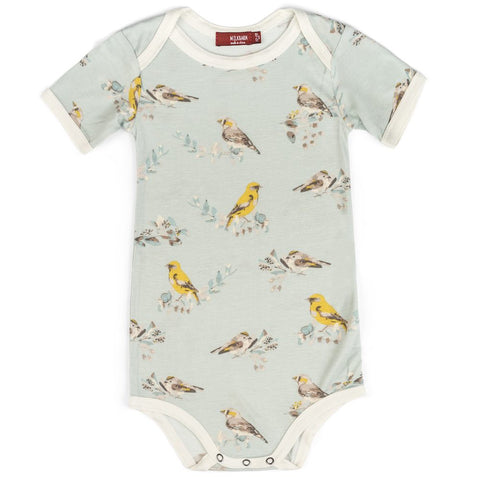 Blue Bird Bamboo One Piece 12-18m
