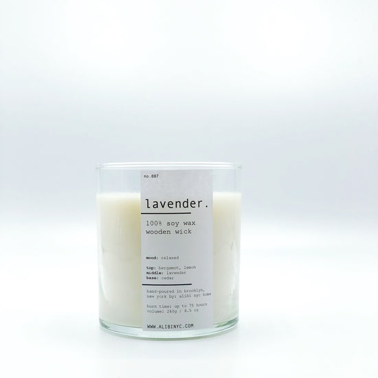 LAVENDER | 100% SOY WOODEN WICK CANDLE