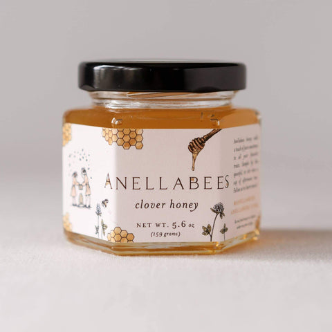 Anellabees - Raw Clover Honey