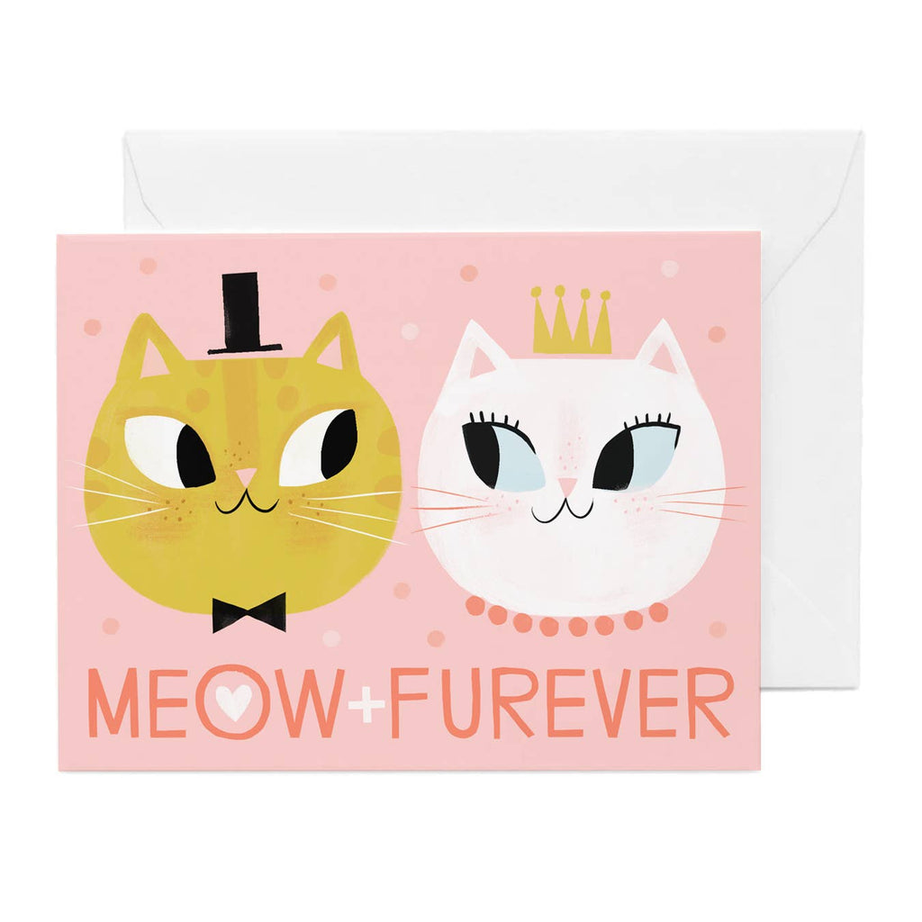 Hip-Hip - Meow and Furever Card