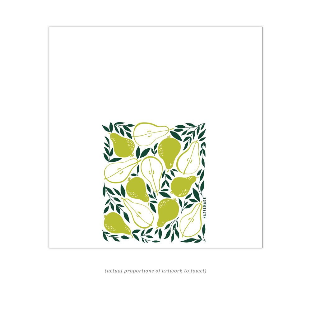 HAZELMADE - Pears Tea Towel