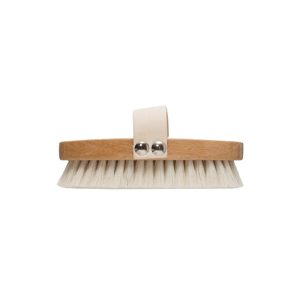 Natural Beech Wooden Bath Brush