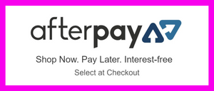 Now Offering Afterpay at Checkout!