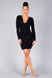 Underwire Bodycon Mini Dress